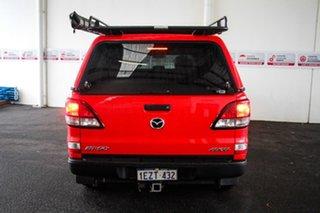 2016 Mazda BT-50 MY16 XT (4x4) Red 6 Speed Automatic Dual Cab Utility