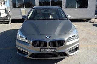 2015 BMW 2 Series F45 220i Active Tourer Steptronic Luxury Line Bronze 8 Speed Automatic Hatchback.