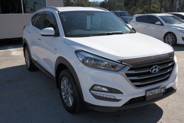 Used Hyundai Tucson TL2 MY18 Active 2WD Maryville, 2017 Hyundai Tucson TL2 MY18 Active 2WD White 6 Speed Sports Automatic Wagon