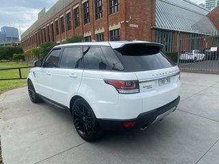 2015 Land Rover Range Rover Sport L494 16MY HSE White 8 Speed Sports Automatic Wagon