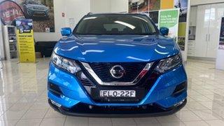 2019 Nissan Qashqai J11 Series 3 MY20 ST-L X-tronic Blue 1 Speed Constant Variable Wagon.