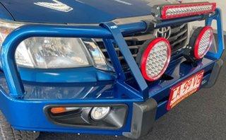 2013 Toyota Hilux KUN26R MY12 SR5 Double Cab Blue 4 Speed Automatic Utility