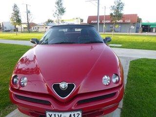 2003 Alfa Romeo Spider (No Series) Twin Spark Red Manual Convertible.