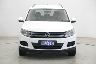 2015 Volkswagen Tiguan 5N MY15 118TSI DSG 2WD Pure White 6 Speed Sports Automatic Dual Clutch Wagon.