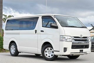 2016 Toyota HiAce KDH201R CDX White 4 Speed Automatic Van.