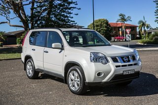2013 Nissan X-Trail T31 Series V ST 2WD White 1 Speed Constant Variable Wagon.
