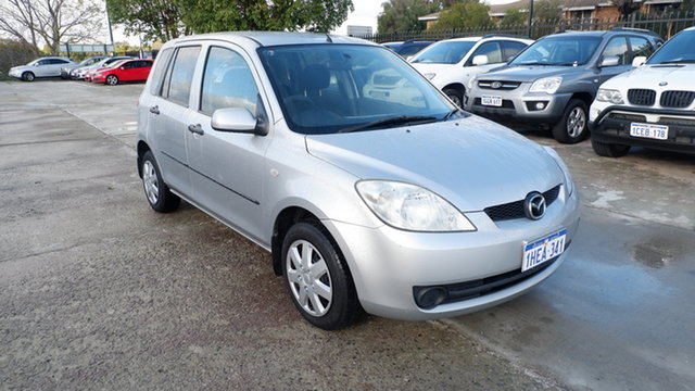 Used Mazda 2 DY10Y2 Neo St James, 2006 Mazda 2 DY10Y2 Neo Silver 5 Speed Manual Hatchback