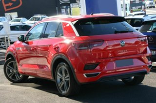 2021 Volkswagen T-ROC A1 MY21 140TSI DSG 4MOTION Sport Flash Red 7 Speed.