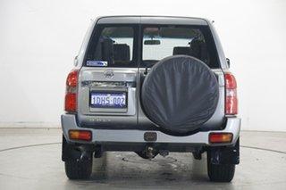 2009 Nissan Patrol GU 6 MY08 ST Grey 4 Speed Automatic Wagon
