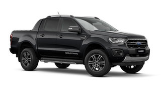 2021 Ford Ranger PX MkIII Wildtrak Shadow Black 6 Speed Automatic Pick Up.
