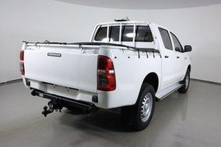 2014 Toyota Hilux KUN26R MY14 SR (4x4) White 5 Speed Automatic Dual Cab Pick-up
