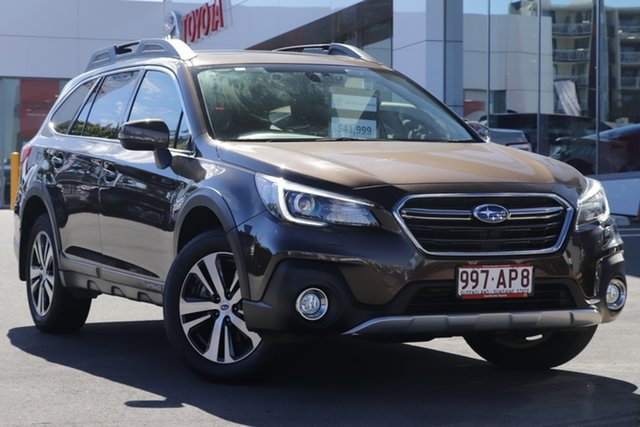 Pre-Owned Subaru Outback B6A MY19 2.5i CVT AWD Premium Woolloongabba, 2019 Subaru Outback B6A MY19 2.5i CVT AWD Premium Brown 7 Speed Constant Variable Wagon