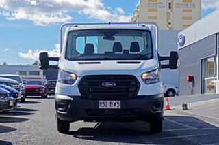 2020 Ford Transit 470E White 6 Speed Manual Single Cab Cab Chassis.
