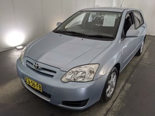 2004 Toyota Corolla ZZE122R Ascent Blue 4 Speed Automatic Hatchback.