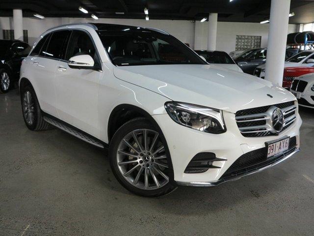 Used Mercedes-Benz GLC-Class X253 808MY GLC250 d 9G-Tronic 4MATIC Albion, 2017 Mercedes-Benz GLC-Class X253 808MY GLC250 d 9G-Tronic 4MATIC Polar White 9 Speed