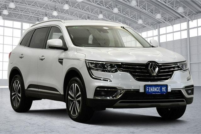 Used Renault Koleos HZG Zen X-tronic Victoria Park, 2019 Renault Koleos HZG Zen X-tronic White 1 Speed Constant Variable Wagon