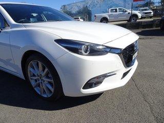 2017 Mazda 3 BN5438 SP25 SKYACTIV-Drive White 6 Speed Automatic Hatchback