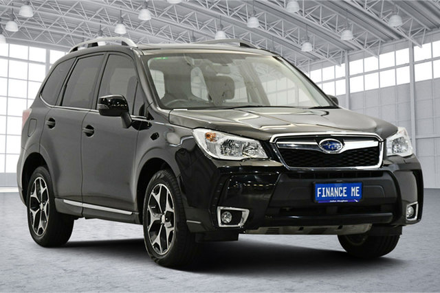 Used Subaru Forester S4 MY15 XT CVT AWD Premium Victoria Park, 2015 Subaru Forester S4 MY15 XT CVT AWD Premium Black 8 Speed Constant Variable Wagon