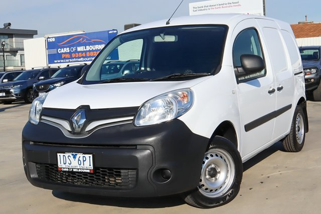 Used Renault Kangoo F61 Phase II Coburg North, 2014 Renault Kangoo F61 Phase II White 4 Speed Automatic Van