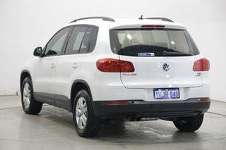 2015 Volkswagen Tiguan 5N MY15 118TSI DSG 2WD Pure White 6 Speed Sports Automatic Dual Clutch Wagon