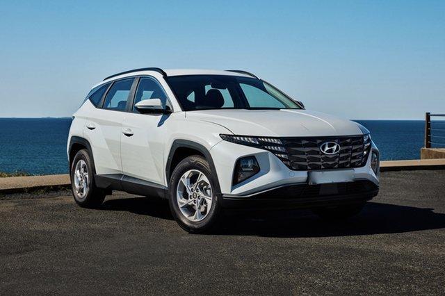 Demo Hyundai Tucson NX4.V1 MY22 (FWD) Reynella, 2021 Hyundai Tucson NX4.V1 MY22 (FWD) White Cream 6 Speed Automatic Wagon