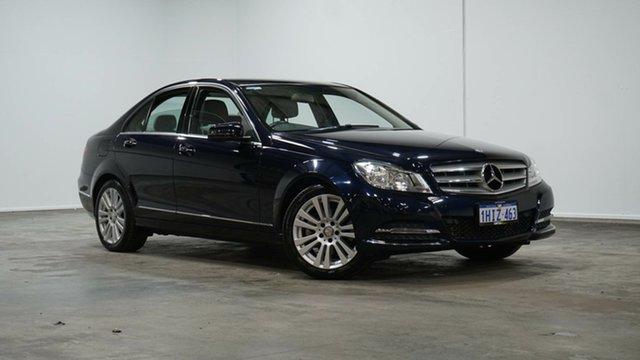 Used Mercedes-Benz C-Class W204 MY13 C250 7G-Tronic + Avantgarde Welshpool, 2013 Mercedes-Benz C-Class W204 MY13 C250 7G-Tronic + Avantgarde Blue 7 Speed Sports Automatic Sedan
