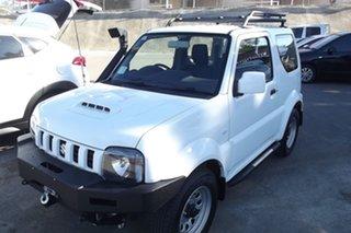 2012 Suzuki Jimny SN413 T6 Sierra White 5 Speed Manual Hardtop.