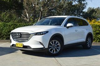 2017 Mazda CX-9 TC Touring SKYACTIV-Drive White 6 Speed Sports Automatic Wagon.