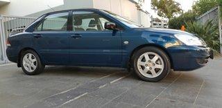 2006 Mitsubishi Lancer CH MY07 ES Blue 5 Speed Manual Sedan