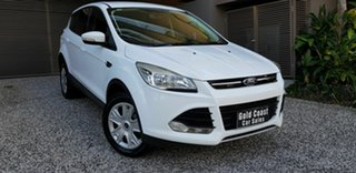 2015 Ford Kuga TF Ambiente (AWD) White 6 Speed Automatic Wagon.