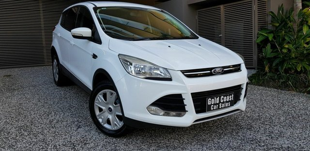 Used Ford Kuga TF Ambiente (AWD) Southport, 2015 Ford Kuga TF Ambiente (AWD) White 6 Speed Automatic Wagon