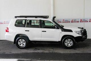 2015 Toyota Landcruiser VDJ200R MY13 GX (4x4) Glacier White 6 Speed Automatic Wagon