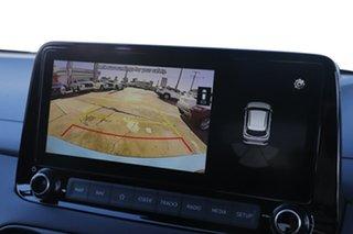 2021 Hyundai Kona Os.v4 MY21 N-Line D-CT AWD Premium Surfy Blue 7 Speed Sports Automatic Dual Clutch