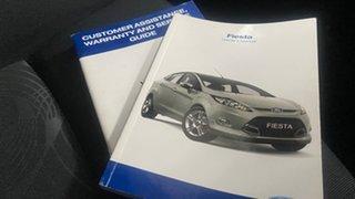 2010 Ford Fiesta WT LX White 5 Speed Manual Sedan