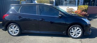 2013 Nissan Pulsar C12 SSS Black 1 Speed Constant Variable Hatchback.