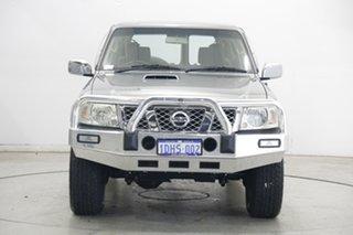 2009 Nissan Patrol GU 6 MY08 ST Grey 4 Speed Automatic Wagon.