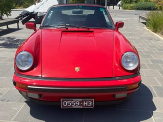 1987 Porsche 911 Carrera Cabriolet Red 5 Speed Manual Convertible