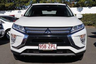 2018 Mitsubishi Eclipse Cross YA MY18 LS 2WD White 8 Speed Constant Variable Wagon.