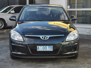2009 Hyundai i30 FD MY09 SX Black 4 Speed Automatic Hatchback