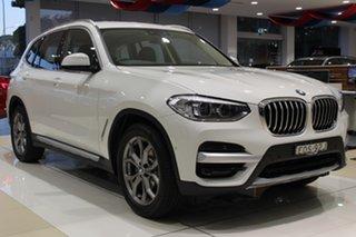 2021 BMW X3 G01 sDrive20i Steptronic Alpine White 8 Speed Sports Automatic Wagon.