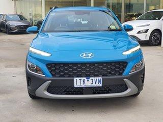 2021 Hyundai Kona Os.v4 MY21 2WD Blue 8 Speed Constant Variable Wagon