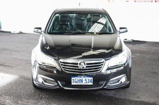 2014 Holden Calais VF V Black 6 Speed Automatic Sedan.
