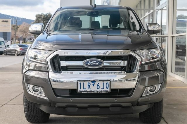 Used Ford Ranger PX MkII XLT Double Cab Ferntree Gully, 2017 Ford Ranger PX MkII XLT Double Cab Grey 6 Speed Sports Automatic Utility