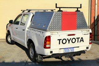 2006 Toyota Hilux KUN16R MY05 SR 4x2 White 5 Speed Manual Utility