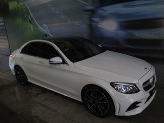 2019 Mercedes-Benz C300 205 MY19 Polaris White 9 Speed Automatic G-Tronic Sedan.