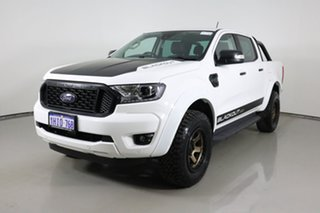 2020 Ford Ranger PX MkIII MY21.25 XLT 3.2 (4x4) White 6 Speed Automatic Double Cab Pick Up.
