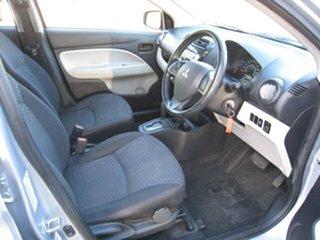 2014 Mitsubishi Mirage LA LS Silver Continuous Variable Hatchback