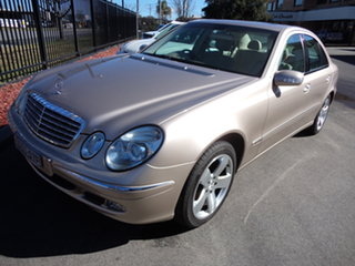 2003 Mercedes-Benz E320 211 Elegance Alexandrite Gold 5 Speed Auto Touchshift Sedan.