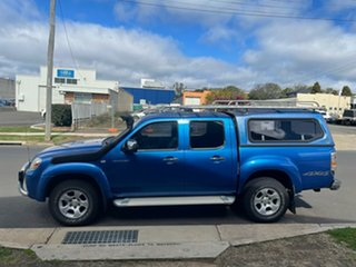 2009 Mazda BT-50 09 Upgrade Boss B3000 DX (4x4) Blue 5 Speed Manual Dual Cab Chassis.