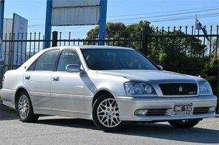 1999 Toyota Crown JZS171 Athlete V Silver Automatic Sedan.